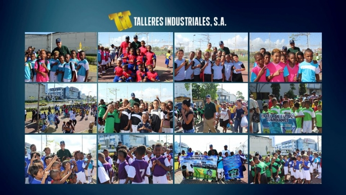 300 children played for the Talleres Industriales Cup this summer of 2016.